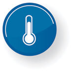 large monitoring icon